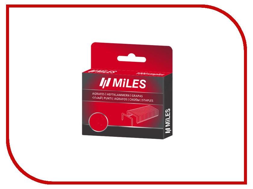 Скобы Miles тип 13 8мм 1000шт N13-8