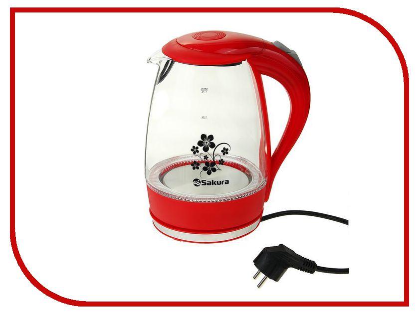 Чайник Sakura SA-2712R машинка для стрижки волос sakura sa 5105bk