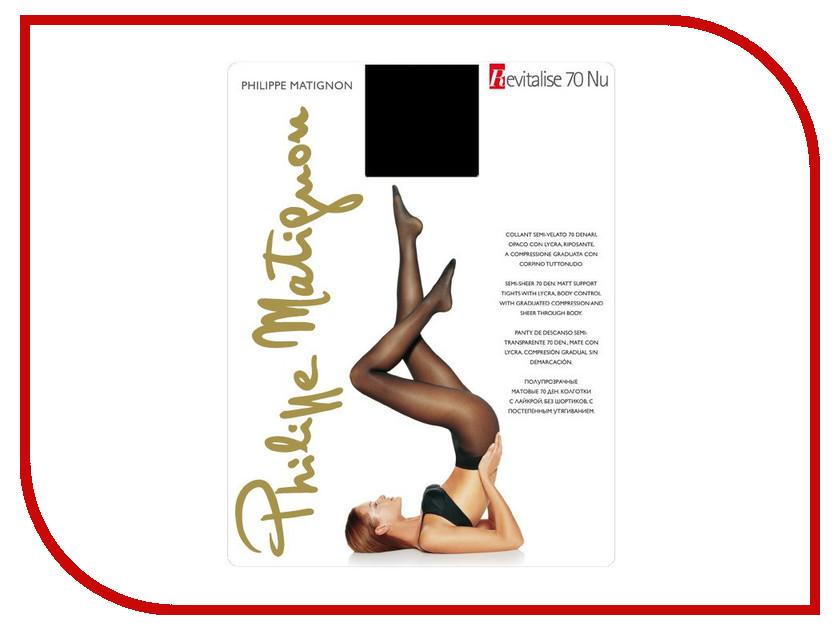 Колготки Philippe Matignon Revitalise размер 4 плотность 70 Nero гольфы philippe matignon premiere 20 mi bas nero черные размер m l