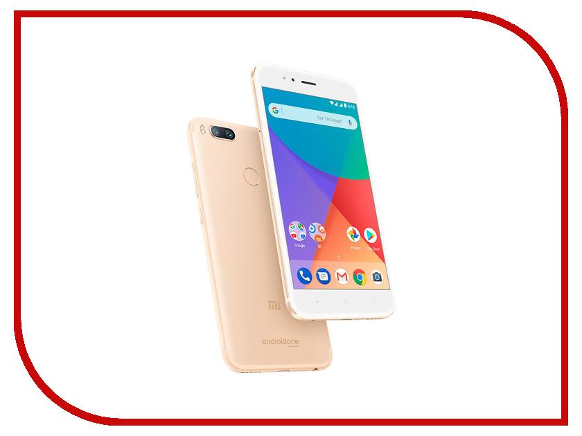 Сотовый телефон Xiaomi Mi A1 64Gb Gold смартфон xiaomi mi a1 64gb gold