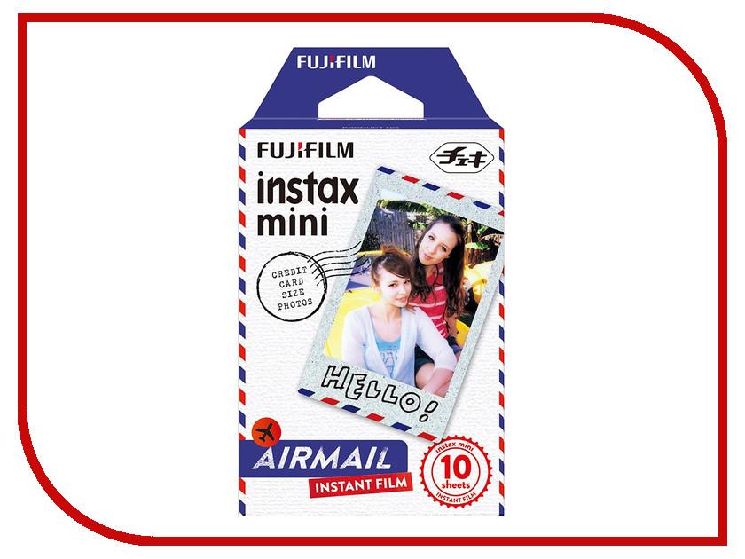 цена на FujiFilm Colorfilm Airmail 10/1PK для Instax Mini 16432657