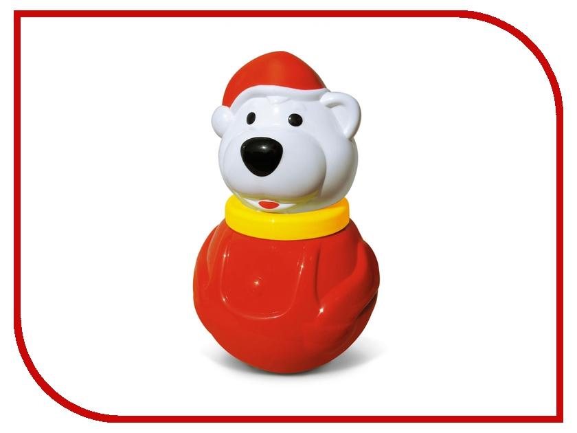 Неваляшка Stellar Белый медведь-2 01614 stellar погремушка неваляшка мишка с розой цвет красный желтый