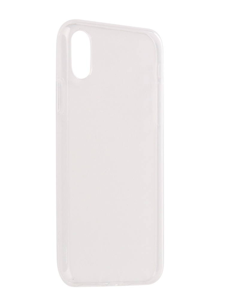 Аксессуар Чехол Onext для APPLE iPhone X Silicone Transparent 70524 аксессуар гибридное защитное стекло для apple iphone x onext 41626