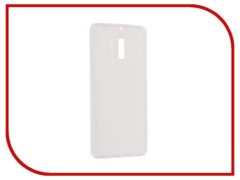 Аксессуар Чехол Nokia 6 Onext Silicone Transparent 70536
