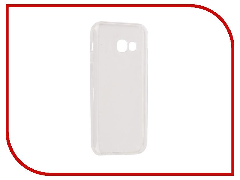 Аксессуар Чехол Samsung Galaxy A3 2017 Onext Silicone Transparent 70515