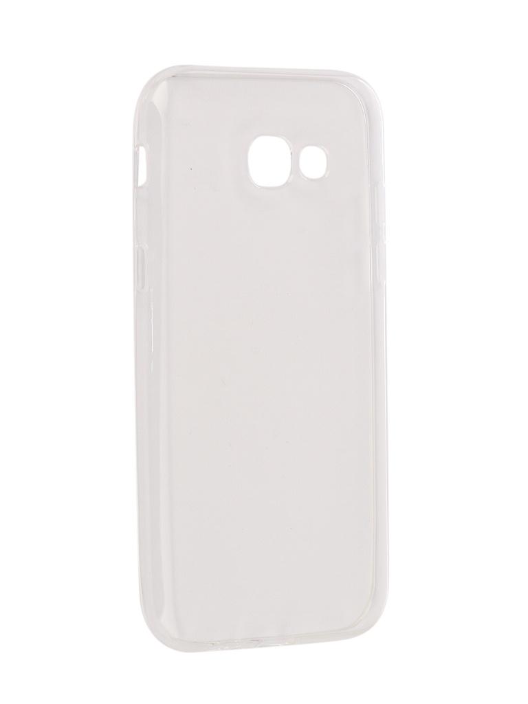 Аксессуар Чехол для Samsung Galaxy A5 2017 Onext Silicone Transparent 70513 аксессуар чехол onext для samsung galaxy j5 2017 silicone transparent 70516