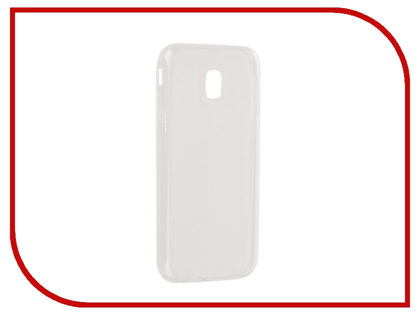 Аксессуар Чехол Samsung Galaxy J3 2017 Onext Silicone Transparent 70517 аксессуар чехол samsung galaxy a3 2017 cojess tpu 0 3mm transparent