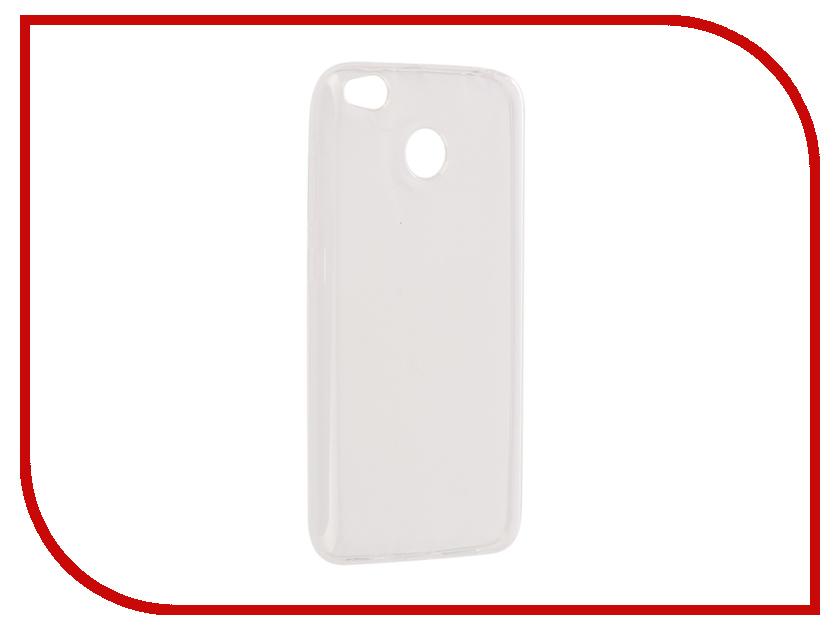 Аксессуар Чехол Xiaomi Redmi 4Х Onext Silicone Transparent 70520 аксессуар чехол xiaomi redmi 4 onext silicone transparent 70500
