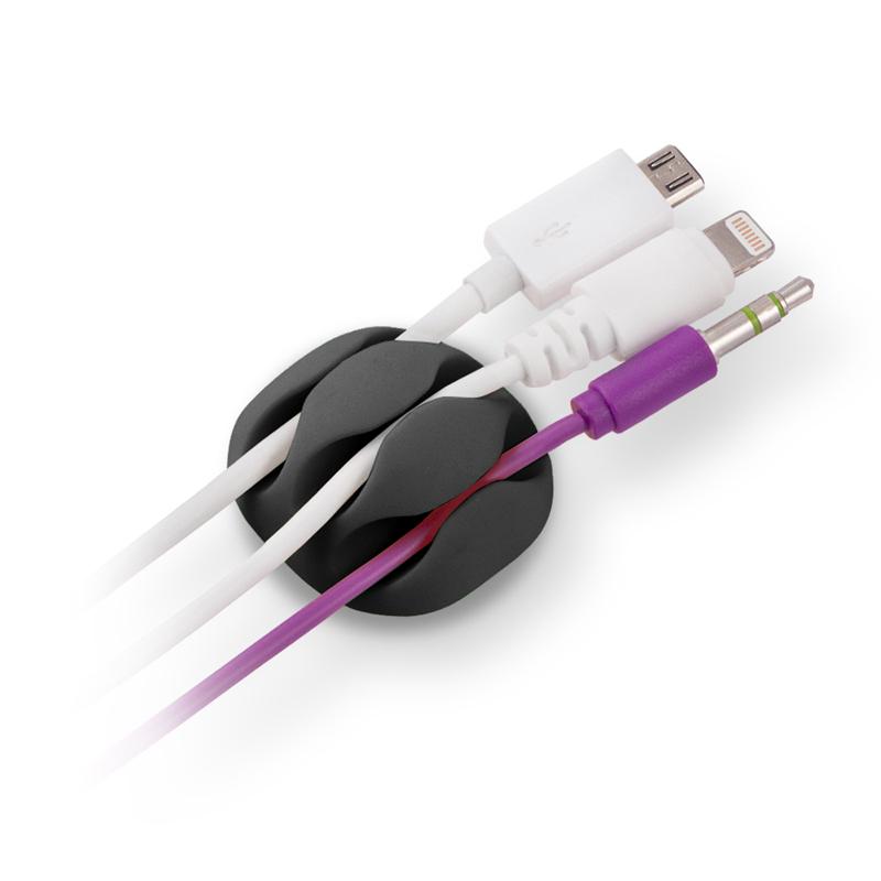 Зажим кабельный Belsis Black CM1103B