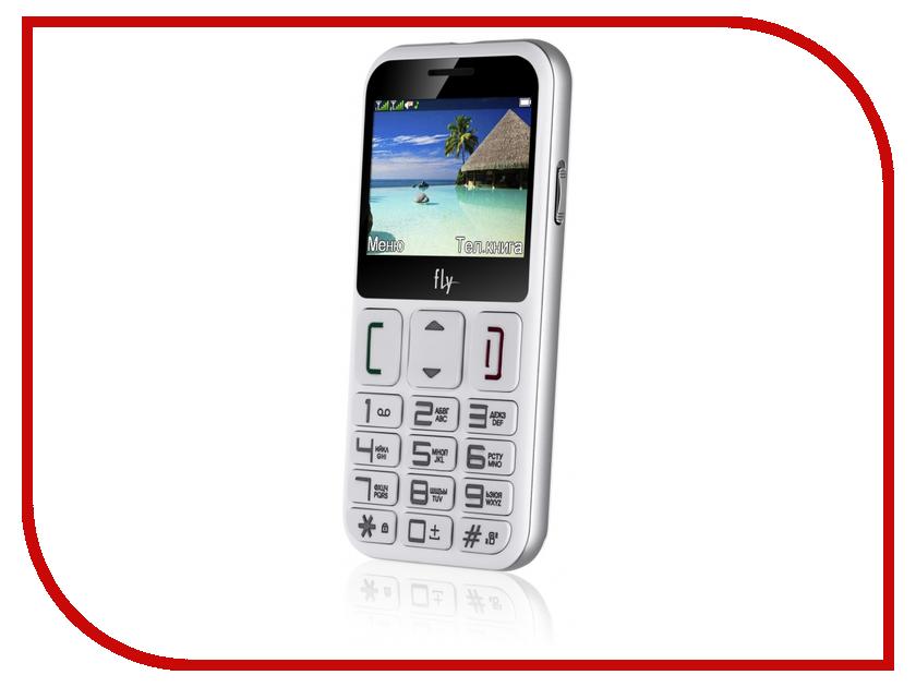 Сотовый телефон Fly Ezzy 9 White мобильный телефон fly ezzy 9 white