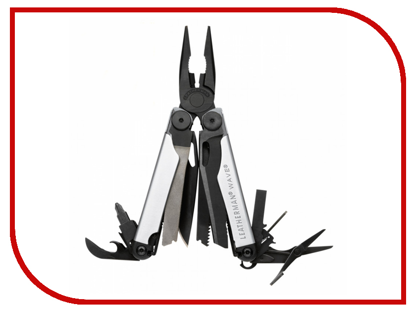 Мультитул Leatherman Wave Silver-Black 832458 цена