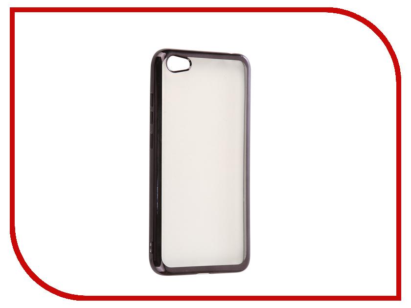 Аксессуар Чехол Xiaomi Redmi Note 5A iBox Blaze Silicone Black frame аксессуар чехол xiaomi redmi 3 3s 3 pro ibox blaze silicone gold frame