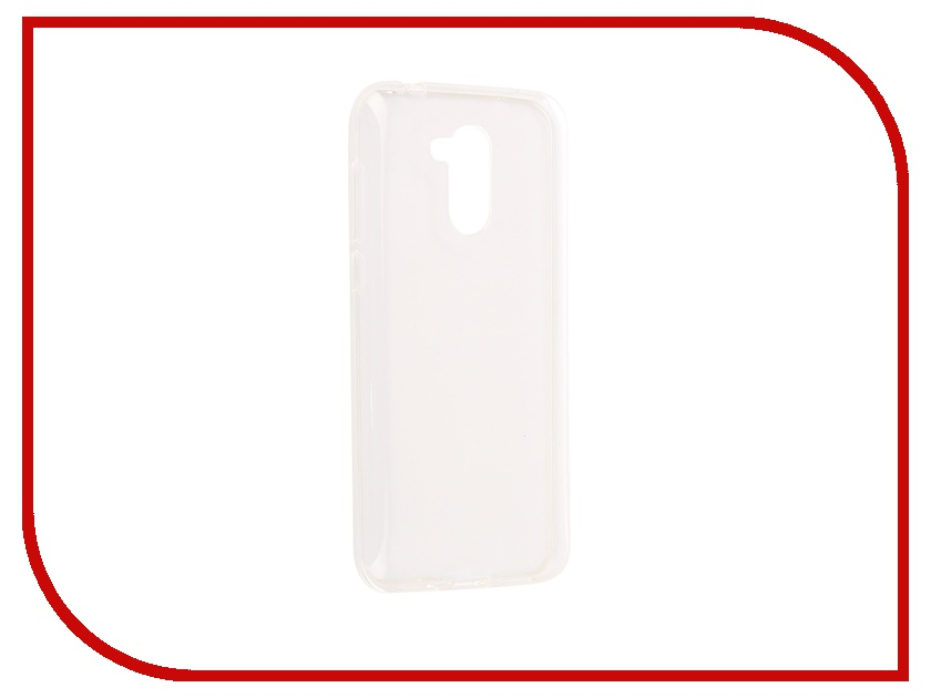 Аксессуар Чехол для Huawei Honor 6C Pro iBox Crystal Silicone Transparent