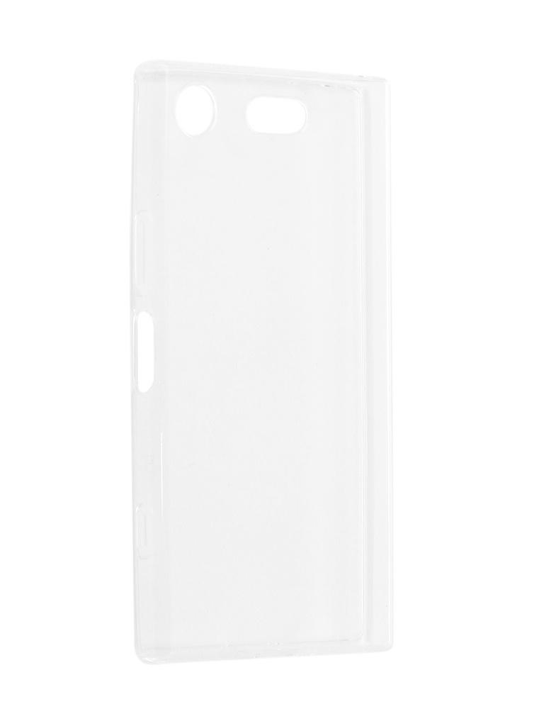 Аксессуар Чехол iBox для Sony Xperia XZ1 Compact Crystal Silicone Transparent аксессуар чехол накладка sony xperia m5 ibox crystal transparent