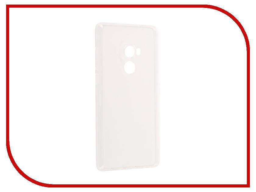 Аксессуар Чехол Xiaomi Mi Mix 2 iBox Crystal Silicone Transparent аксессуар чехол xiaomi mi mix 2 svekla silicone transparent sv ximimix2 wh