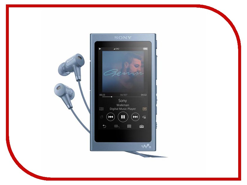 Плеер Sony NW-A45HN Blue
