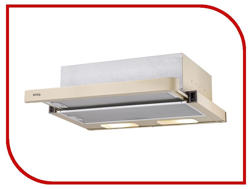 Кухонная вытяжка Korting KHP 6211 B korting khp 6211 w