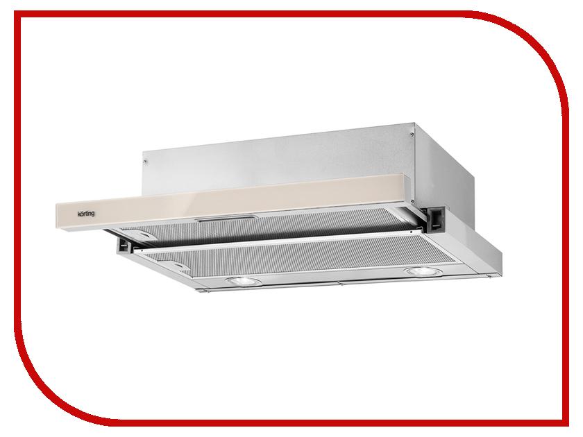 Кухонная вытяжка Korting KHP 6211 GB встраиваемая вытяжка korting khp 6214 gb
