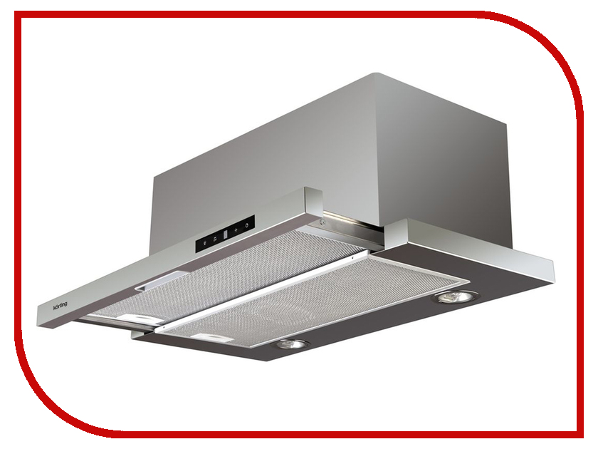 Кухонная вытяжка Korting KHP 6772 X вытяжка korting khp 6772 gw