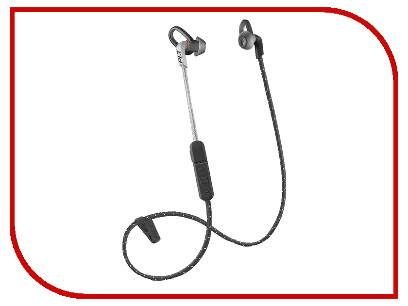 Plantronics BackBeat Fit 305 BT3.0 Black-Grey гарнитура беспроводная plantronics backbeat fit red grey