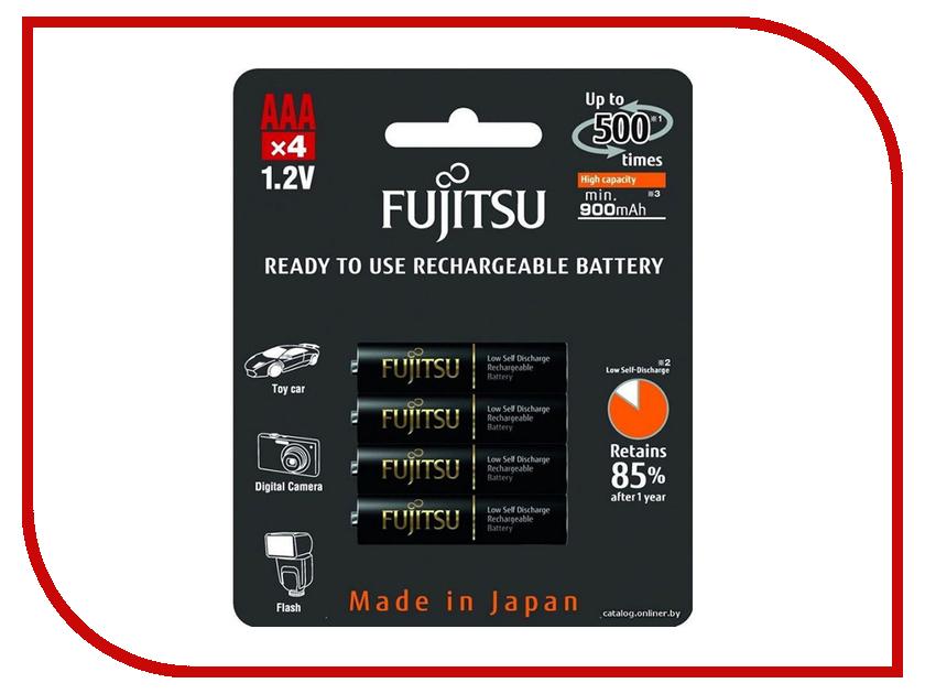 Аккумулятор AAA - Fujitsu HR-4UTHCEU (4B) 900mAh (4 штуки) FDKB00008 1setx original new pickup roller feed exit drive for fujitsu scansnap s300 s300m s1300 s1300i