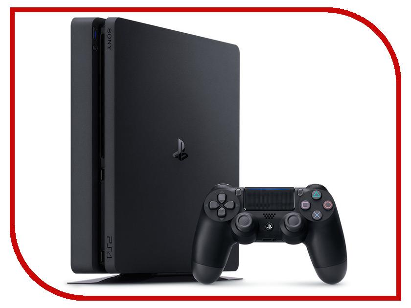 Игровая приставка Sony PlayStation 4 500Gb Slim CUH-2108A + HZD + GOW3 + UC4 + PSN игровая приставка sony playstation 4 slim 500gb hrz dc r