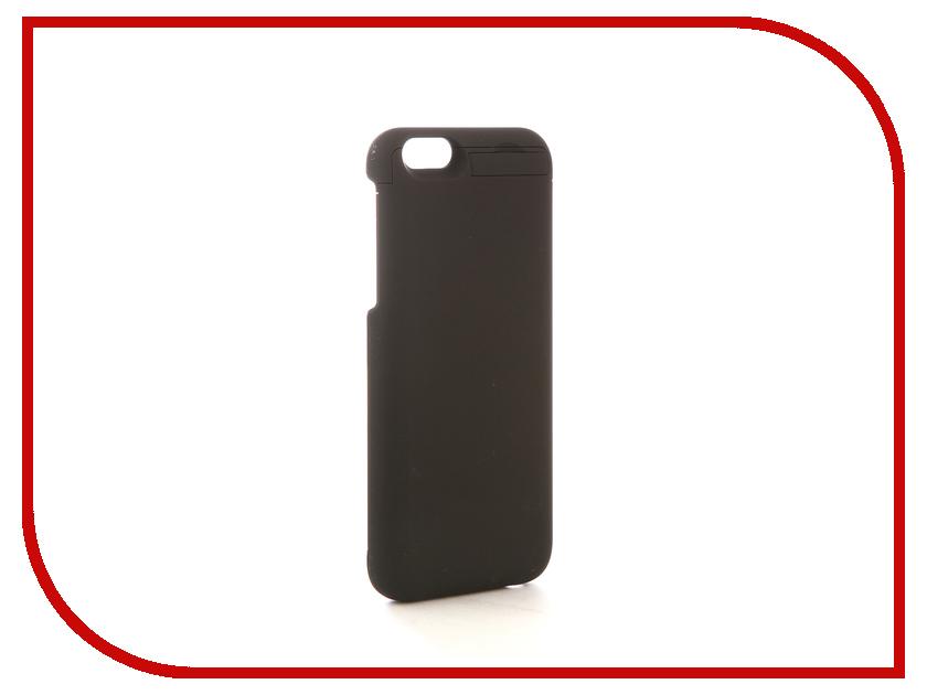 Аксессуар Чехол-аккумулятор Airon для iPhone 6 Black аксессуар fototo браслет макрообъективдля iphone