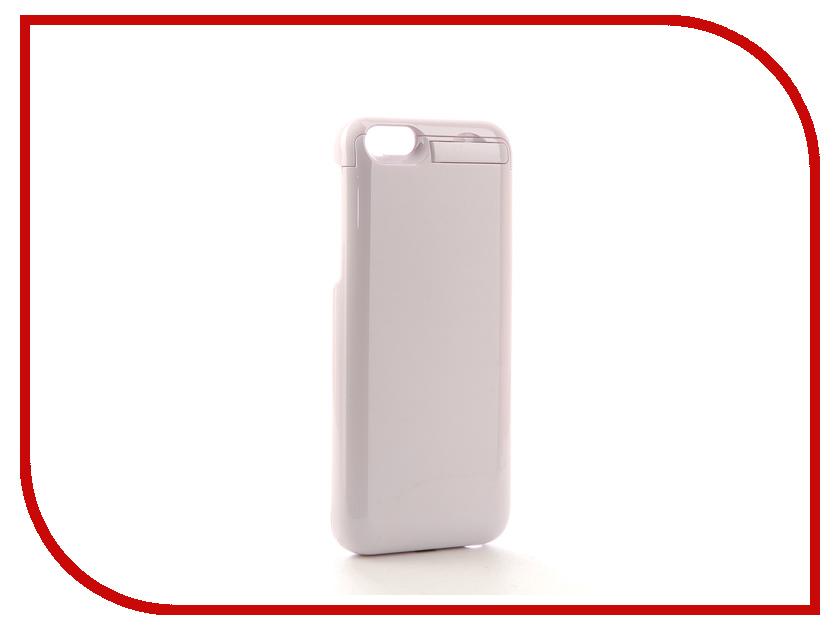 Аксессуар Чехол-аккумулятор Airon для iPhone 6 White exeq helping ic08 чехол аккумулятор для iphone 6 white 3300 мач клип кейс