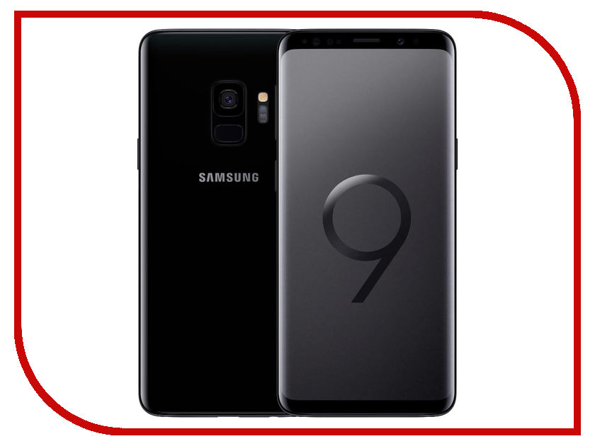 Сотовый телефон Samsung SM-G960FD Galaxy S9 64Gb Black сотовый телефон samsung sm g955fd galaxy s8 plus 64gb black