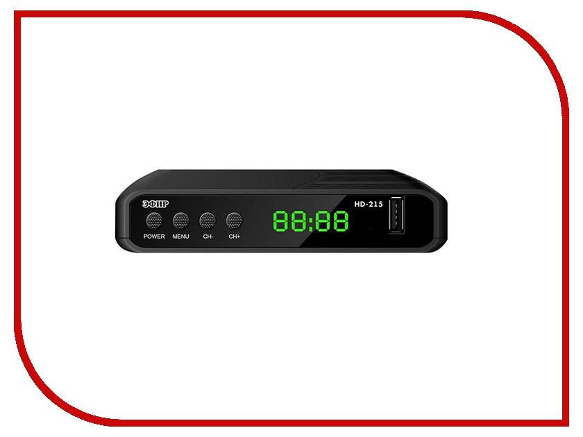 Эфир DVB-T2 HD HD-215 samura нож универсальный pro s 11 5 см sp 0021 k samura