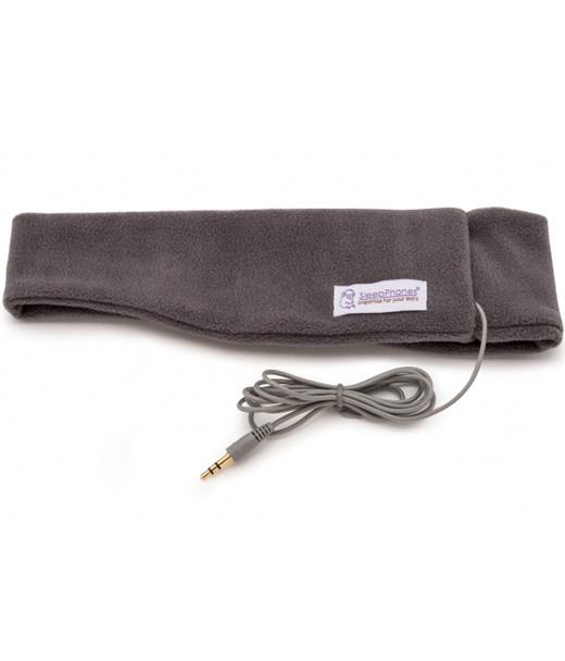 SleepPhones Classic Soft Fleece Gray SC6GM-US конверт флисовый kaiser iglu thermo fleece anthracite light gray