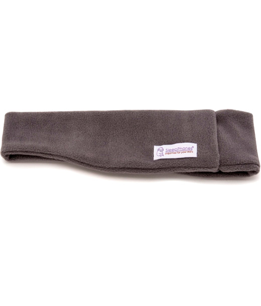 SleepPhones Wireless Soft Fleece Gray SB6GM-US