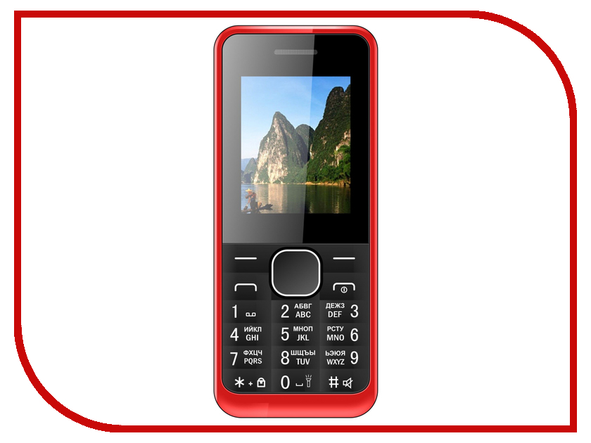 Сотовый телефон Irbis SF05 Red