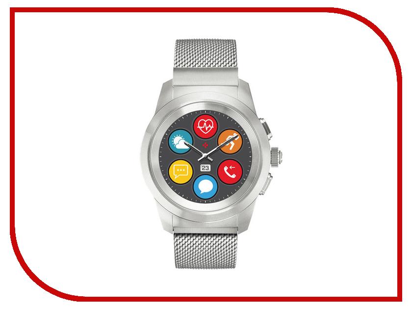 Умные часы MyKronoz ZeTime Elite Regular Silver mykronoz умные наручные часы mykronoz zesplash white белые