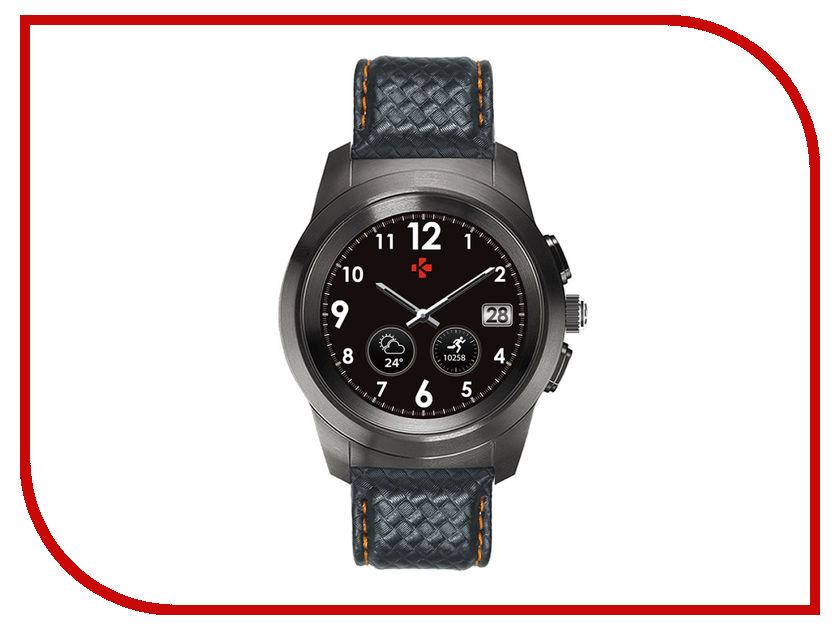 Zakazat.ru: Умные часы MyKronoz ZeTime Premium Regular Black-Orange