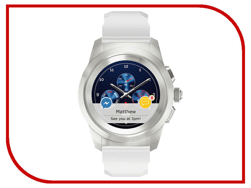 Zakazat.ru: Умные часы MyKronoz ZeTime Original Regular Silver-White