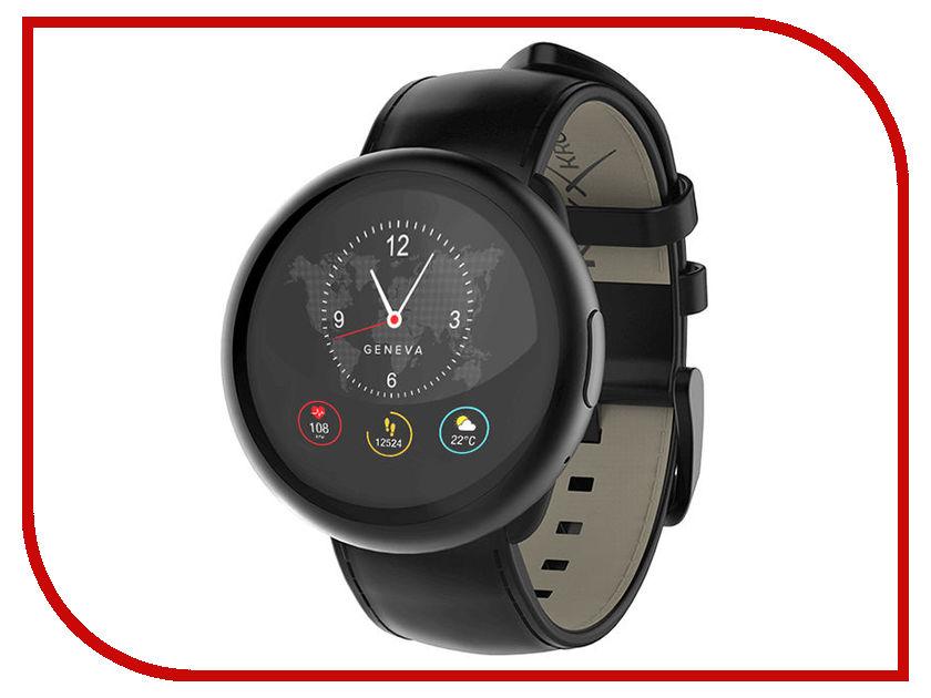 Zakazat.ru: Умные часы MyKronoz ZeRound2HR Premium Black