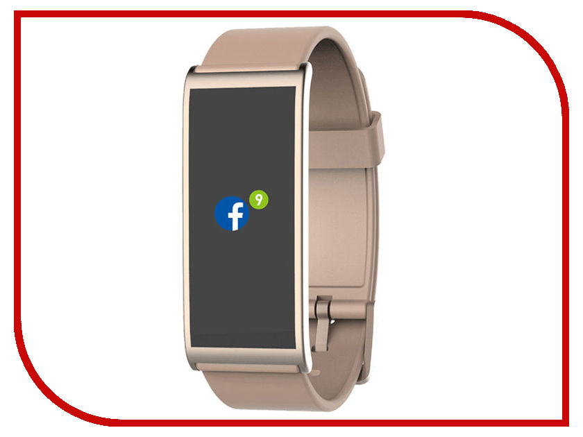Умный браслет MyKronoz ZeFit4HR Pink-Gold mykronoz умные наручные часы mykronoz zesplash white белые
