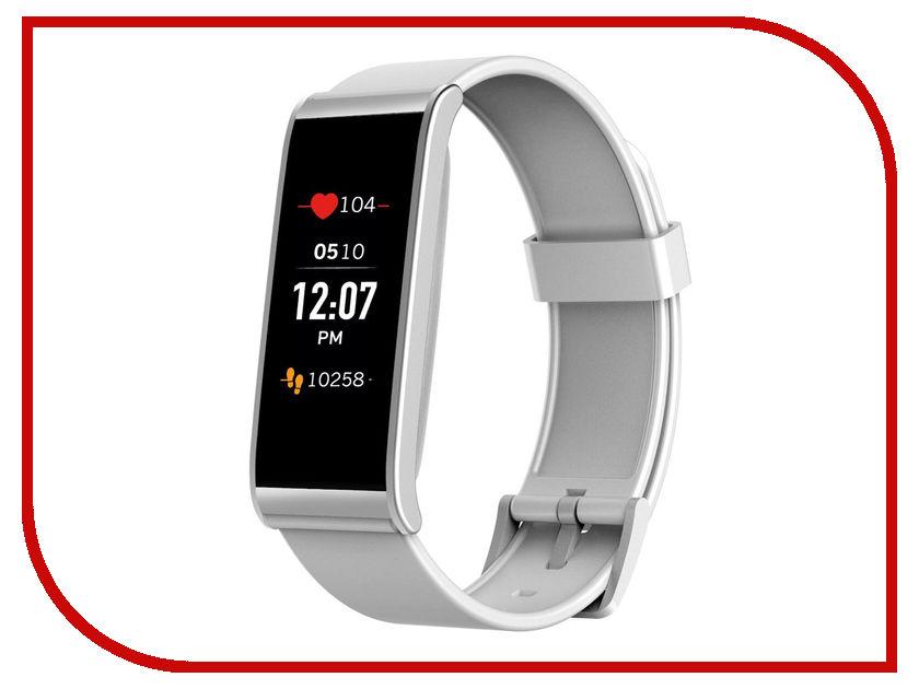 Умный браслет MyKronoz ZeFit4HR White-Silver mykronoz умные наручные часы mykronoz zesplash white белые
