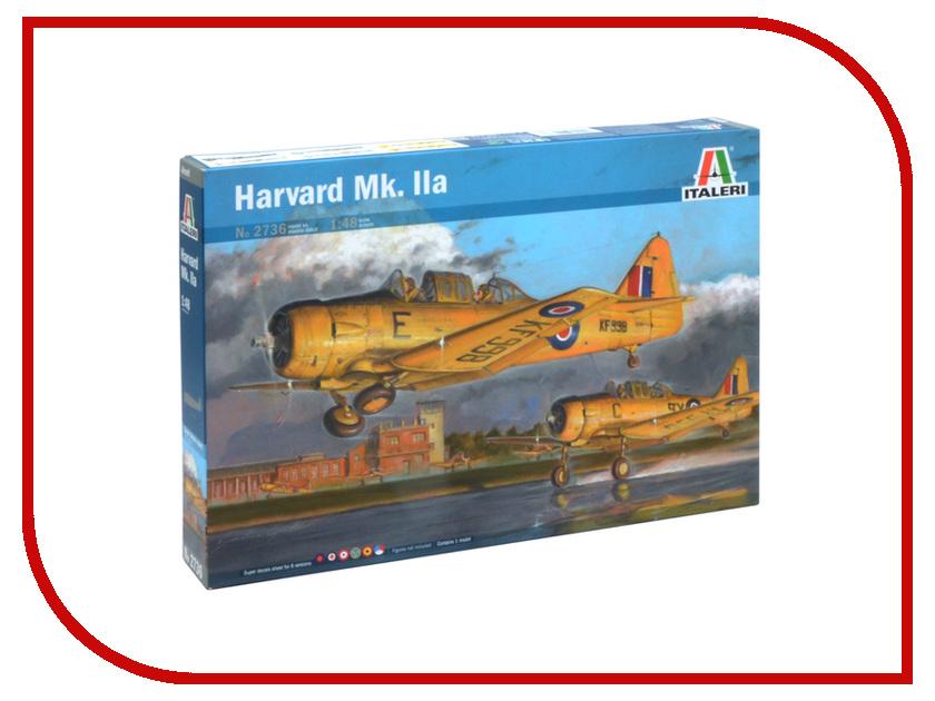 Сборная модель Italeri Самолёт Harvard Mk.llA 2736 сборная модель italeri самолет cant z 506 airone 1360