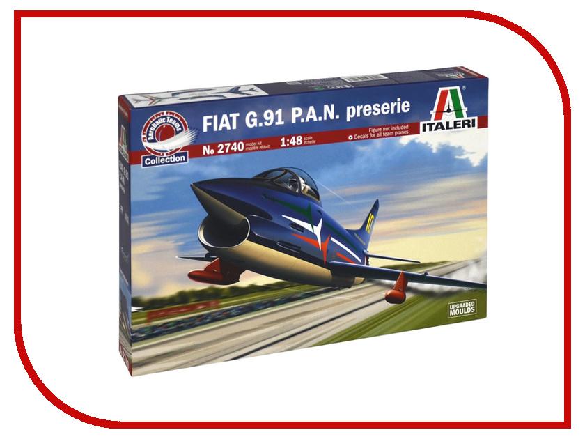 Сборная модель Italeri Самолёт Fiat G.91 P.A.N. 2740 fiat sedici 1 9 multijet