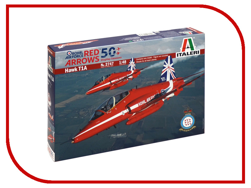 Сборная модель Italeri Самолёт Revell Hawk T.1A Red Arrows 2747 шагомер электронный hawk hkpd6002