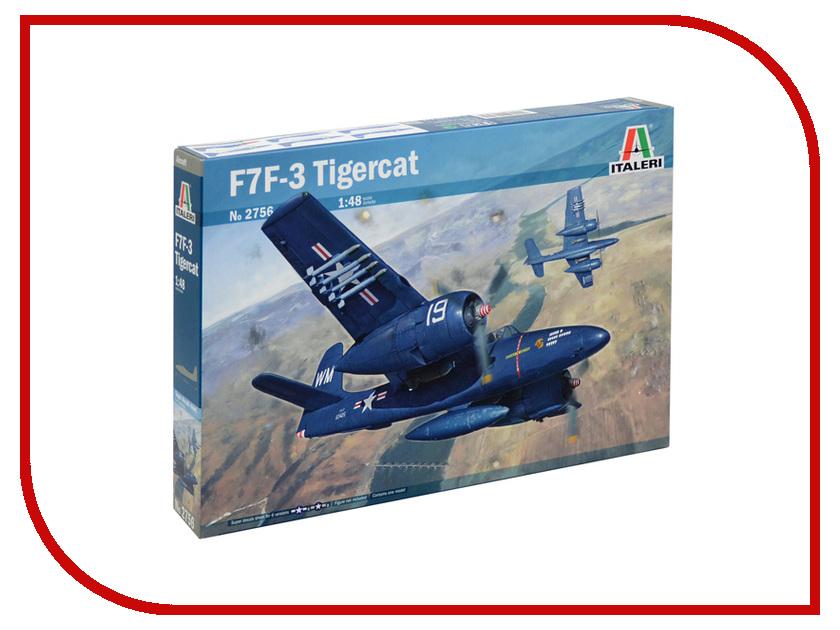 Сборная модель Italeri Самолёт Grumman F7F3 Tigercat 2756