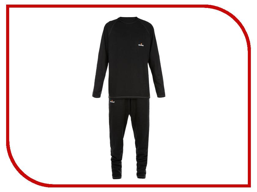 Термобелье WoodLand Ultra Wool Thermo XXXL Black 0052605 термобелье woodland soft thermo s dark grey 0057728