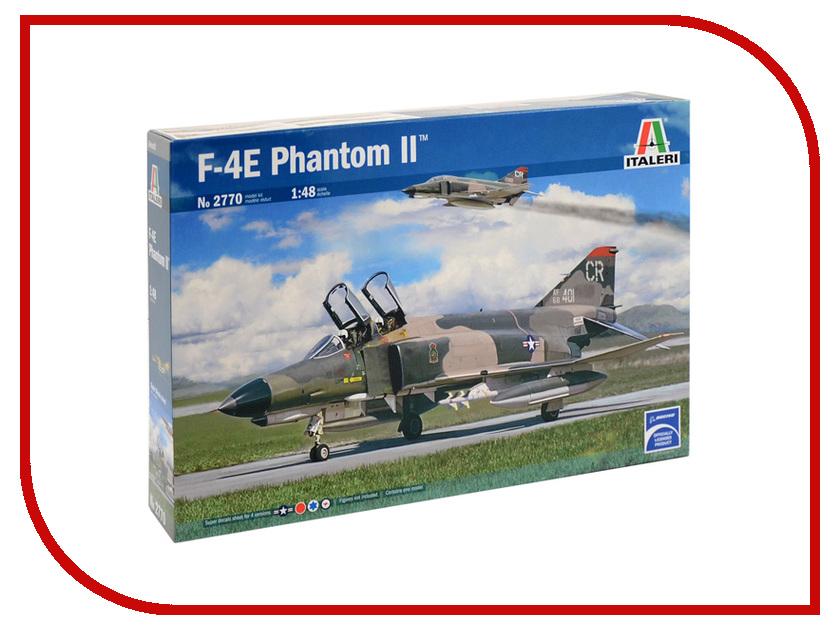 Сборная модель Italeri Истребитель F-4E Phantom II 2770