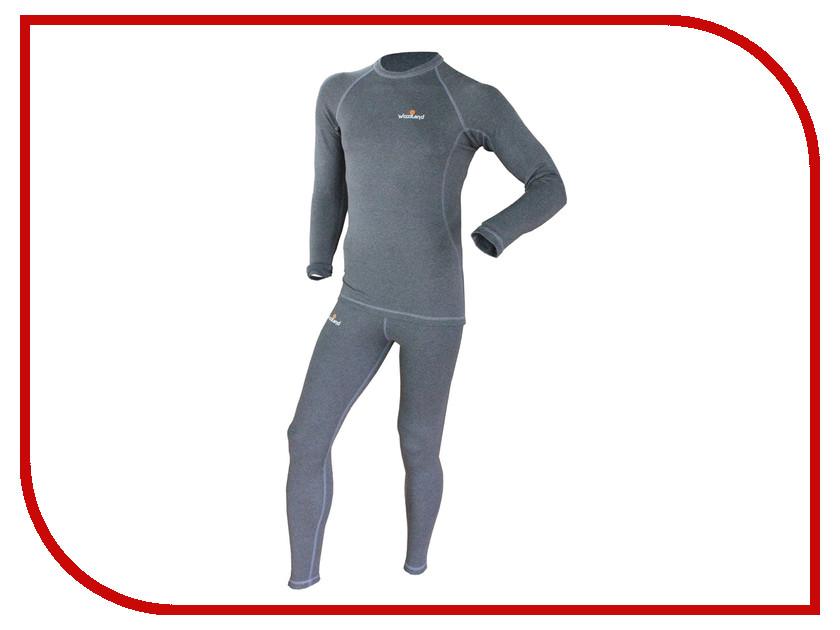 Термобелье WoodLand Soft Thermo S Dark Grey 0057728 термобелье woodland soft thermo xl dark grey 0049584