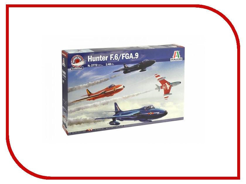 Сборная модель Italeri Самолёт Hunter F.6/FGA.9 2772