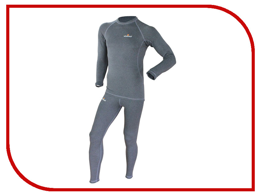 Термобелье WoodLand Soft Thermo M Dark Grey 0049582 термобелье woodland soft thermo xl dark grey 0049584
