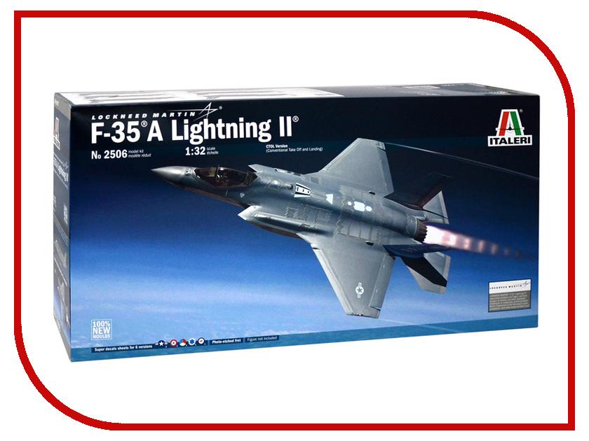 Сборная модель Italeri Военный Самолёт Lockheed F-35A Lightning II 2506