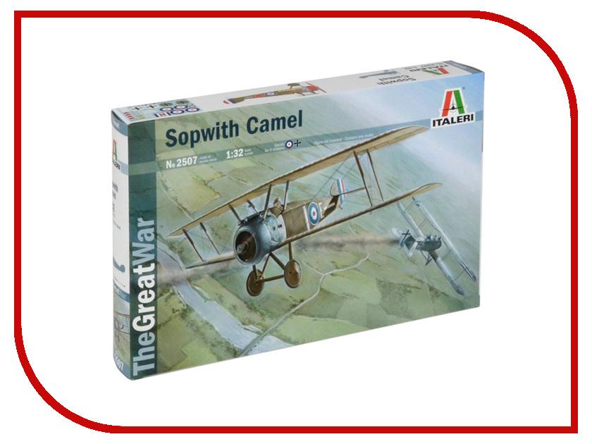 Сборная модель Italeri Самолёт Sopwith Camel Первая Мировая 2507 сборная модель italeri самолет cant z 506 airone 1360